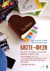cartel GAZTE-MEZA